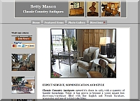 Betty Mason Classic Country Antiques Web Site